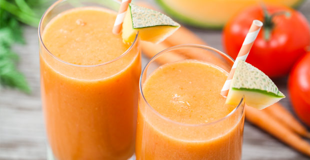 Cantaloupe-Peach Smoothie Recipes — Dishmaps